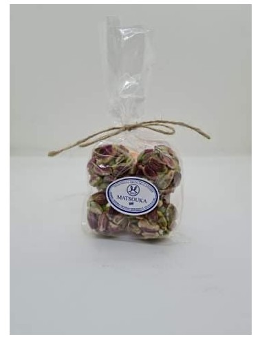 PISTACHIO BALL FILLED WITH ALMOND 100GR